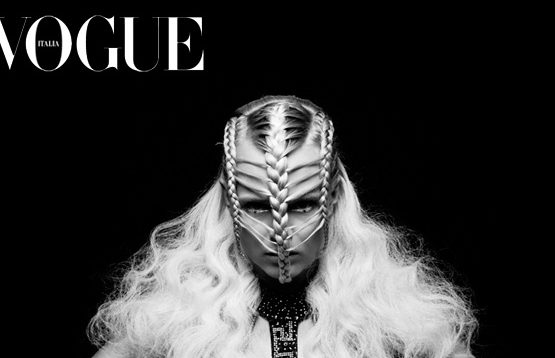 frankie endersbee vogue italia braids plaits